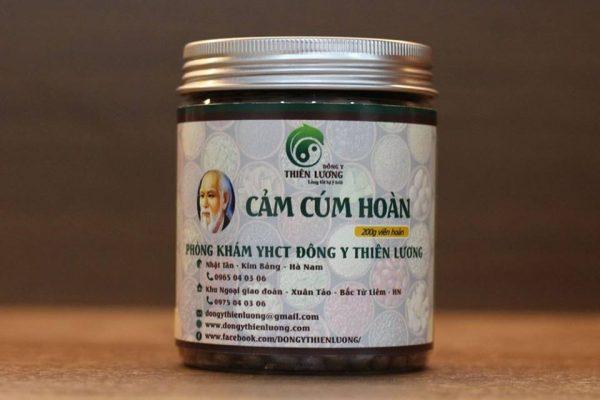 Cảm Cúm Hoàn Thiên Lương chữa Sốt Virus