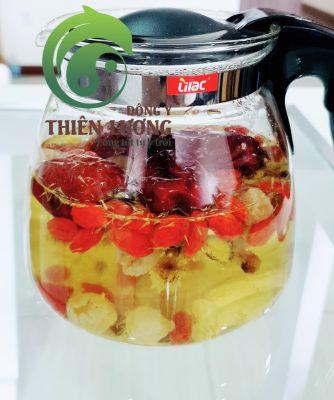 Bình trà Minh mục dưỡng tâm Thiên Lương từ những nguyên liệu hữu cơ và chất lượng cao