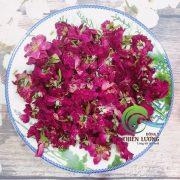 Hồng nhung giống cổ hữu cơ được sấy lạnh ở nhiệt độ thấp giữ trọn màu sắc, hương vị, hoạt chất.