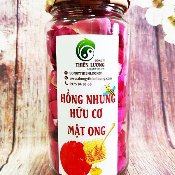 Hồng nhung hữu cơ mật ong