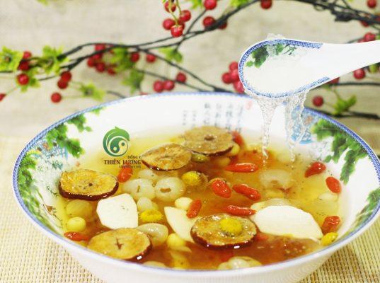 Chè dưỡng nhan Thiên Lương - món ăn thanh mát ngày hè.