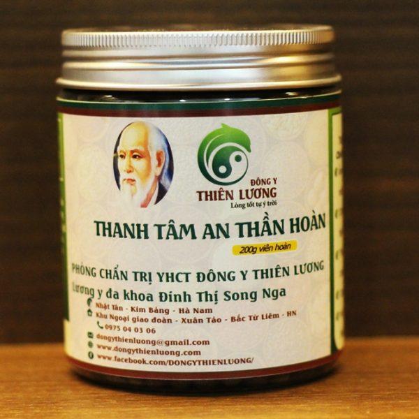 Thanh tâm an thần hoàn - Đông y Thiên Lương