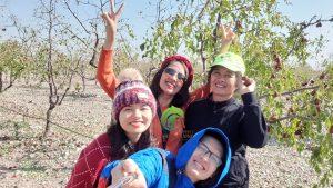 Thiên Lương trực tiếp tới thăm vườn táo đỏ hữu cơ tại biên giới Trung Quốc Mông Cổ